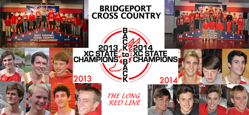 2013-2014 XC State Champions BacktoBack - Bulletin Board
